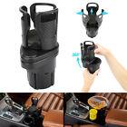 Car Cup Holder Universal Expander Auto Drink Holder 360 Rotating Adjustable Base