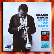 MILES DAVIS - KIND OF BLUE  180g Audiophile LP Limited Edition Jazz Image SEALED