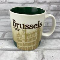 BRUSSELS Starbucks Mug Global City Icon Collector Series 16oz 2010