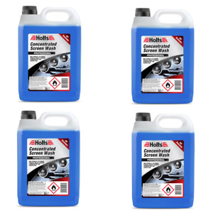 Concentrated Screen Wash for Winter / All Seasons - 4x5L = 20 Litres WINDSCREEN