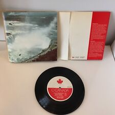 Vintage O Canada National Anthem Instrumental & Vocal 45 RPM Record