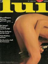 Lui 1,01/1978 Januar,Jane Nelson,Nina,Corinne,Männermagazin,zum Geburtstag