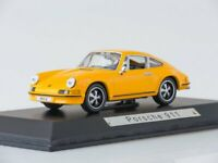 Scale model car 1:43 Porsche 911S (901), 1969 (yellow)