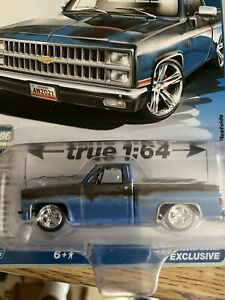 Auto World 1981 Chevy Silverado Pickup Lowered (Dirty) (AW Exclusive) in stock