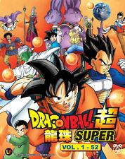 DVD Anime Dragon Ball Super Chapter 1 - 52 English Sub All Region Free Ship