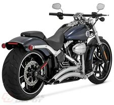 Vance & Hines Exhaust Chrome Big Radius 2:2 System Softail Breakout  26065
