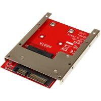 StarTech SAT32MSAT257 mSATA SSD to 2.5in SATA Adapter Converter - 1