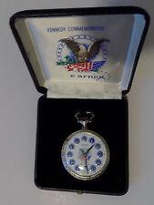 Arnex John & Robert Kennedy Commemorative Pocket Watch in Original Box