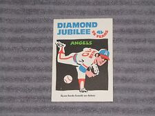 NOLAN RYAN- LAUGHLIN DIAMOND JUBILEE Card - #1- 1976