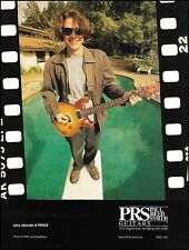 Larry LaLonde (Primus) 1995 PRS Guitar ad 8 x 11 advertisement print