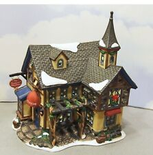 SANTA'S WORKBENCH THE ENCHANTED CHOCOLATE SHOP Lighted Table Top Lamp w/ Box