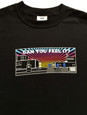 Blue Man Group Can You Feel It? Roof Dwellers Black t-shirt Sz. M