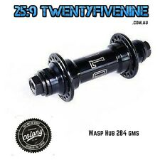 Colony Wasp Front BMX Female Axle Hub BLACK 284gms