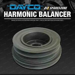 Dayco Powerbond Harmonic Balancer for Holden Rodeo R9 Rodeo RA 2.2L 2.4L