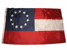 3x5 Stars and Bars First National 11 Southern States CSA Civil War flag 3'x5'