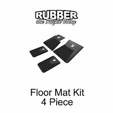 1960 1961 1962 1963 1964 Ford Galaxie Floor Mat Kit - 4 pc. Black