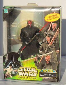 Figurine Star Wars. DARTH MAUL. Mega Action Hasbro 2000. Dans boîte. NEUF