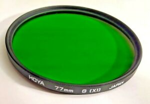 Genuine Hoya 77mm Green  X1 X-1 X 1 Glass Lens Filter Japan 77 mm G (X1) New