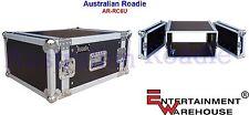 Australian Roadie 6RU  Alloy-Composite Rack Case