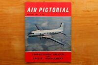 Vtg Original Air Pictorial Magazine 1960 September Farnborough Preview