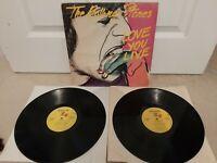 """The Rolling Stones – Love You Live Vinyl 12"""" Double Lp Album COC 89101 1977"""