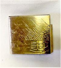 Brand new brass Habaki for Shinken Iaito iaido Japanese sword Good quality No14