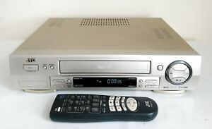 JVC HR-S6600EK S-VHS VIDEO PLAYER / RECORDER SUPER VHS WITH REMOTE CONTROL