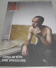 du 721 China im Kopf EINE Spiegelung pp. 11/2001 Zeitschrift der Kultur NOVEMBER