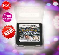 Pokemon:Platinum version (Nintendo DS,2009)Game Only for Nintendo DS Lite TESTED