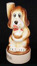 Vintage Japan Liquor Musical Decanter Hound Dog Figure How Dry I Am Song