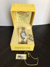 INVICTA - SAPPHIRE LADY DIVER WATCH - LIGHT GRAY DIAL - #7066
