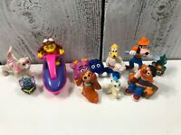 10 Vintage Mix MCDONALD'S Happy Meal TOYS Disney Goofy Lot Different Characters
