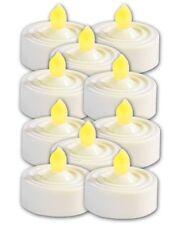 10 BOUGIES À LED STYLE CHAUFFE-PLAT - Lunartec