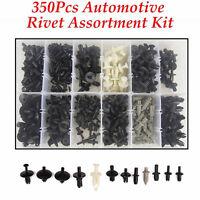 350pcs 12 Sizes Car Automotive Push Pin Rivet Interior Trim Clip Assortment Kit