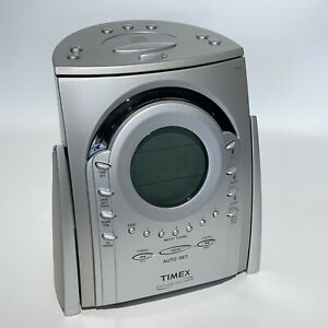 TIMEX Nature Sounds CD Clock Radio T621T Works Great