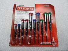 Craftsman Mini Precision Screwdriver Set, 10 pcs, made in USA - Part # 41633