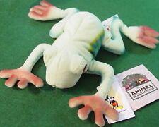 "Disney Animal Kingdom Red Eyed Tree Frog 9"" Mini Bean Bag 2 Plush Mwmts!"