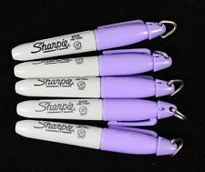 5 x Sharpie Mini Fine Permanent Marker Pens LILAC PURPLE Golf Ball Markers