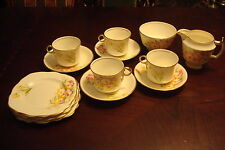 Phoenix China made in England tea set of 15 pcs SALE $ 10 PER PIECE [a4*42a]