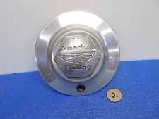 "Nov American Racing Wheel Part Aluminum Center Cap 7"" dia"