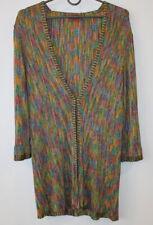 Women's Missoni Multicoloured Cardigan Size 46