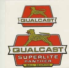 Qualcast Superlite Panther Vintage Mower Repro Decals