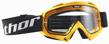 Thor Enemy Motocross MX DH Mountain Bike Enduro Helmet Goggles - Yellow
