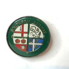 Southern railway souvenier Pin Badge 1980's