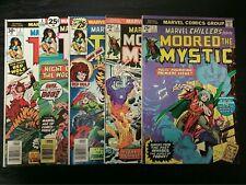 1975 MARVEL COMICS MARVEL CHILLERS LOT OF 5 #1-7 MIXED GRADE 1ST APP MODRED