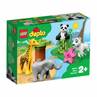 10904 LEGO DUPLO Town Baby Zoo Animals Wildlife 9 Pieces Toddler Age 2 Years+