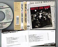 Roxette Look Sharp! Japan CD TOCP-8202 W / Obi + F / o Insert 1994 Reedición