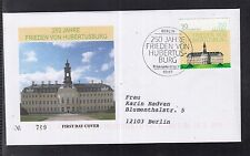B 5203) Germany 2013 FDC - 250 Years of Peace Hubertusburg