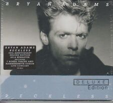 Bryan Adams Reckless 2 CD Set Deluxe Edition 30th Anniversary 2014