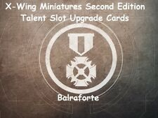X-Wing Miniatures Talent Slot upgrade card singles second edition 2.0 Talents